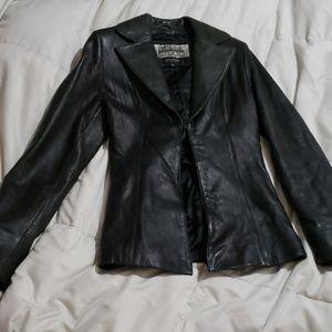 Wilson leather fashion jacket